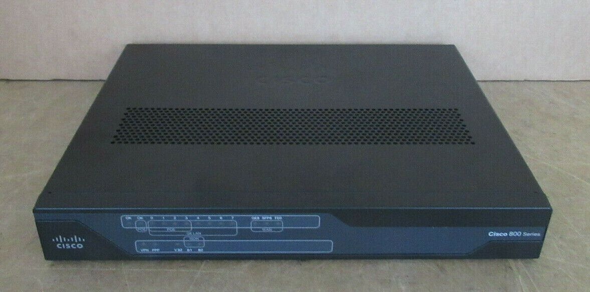 Cisco C891F-K9 Integrated Services Router 8-Port Gigabit 4x PoE Managed  Switch